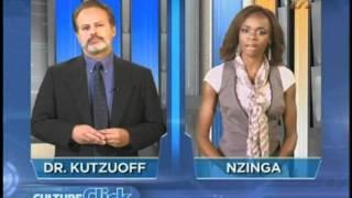 Culture Click Clip with Nzinga Blake and Steve Gelder as Dr. Kutzuoff