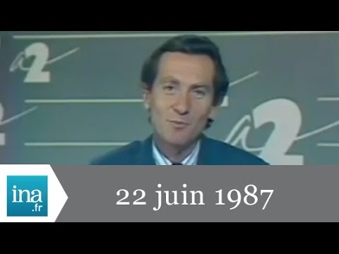 13h France 2 du 22 juin 1987 - Archive INA