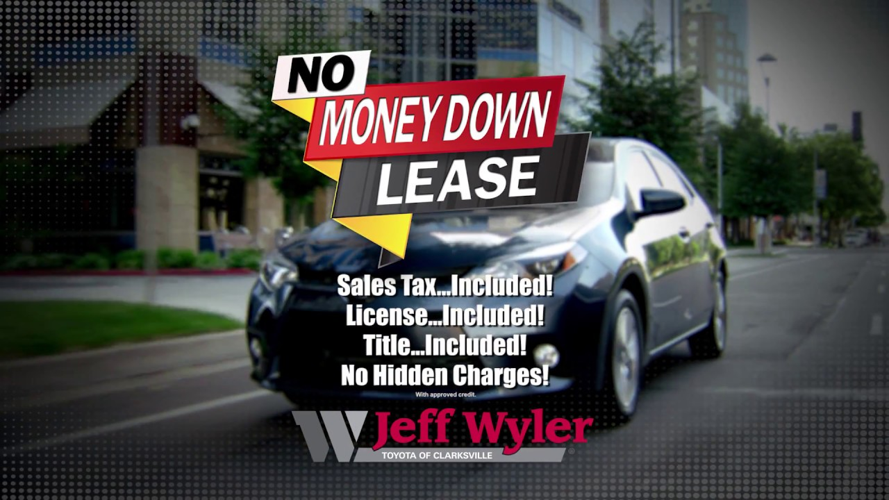 Superb Jeff Wyler Toyota Of Clarksville No Money Down Lease