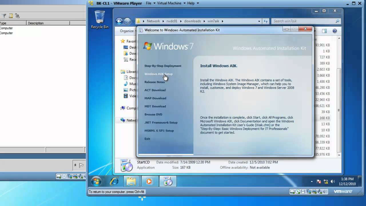waik windows 7