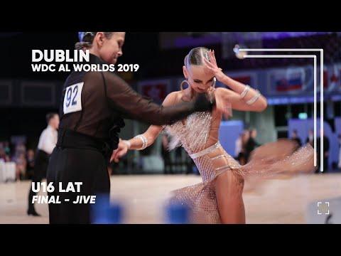 Alexander Kovalev - Eilizaveta Borisova, RUS   2019 Dublin   World U16 LAT - F J
