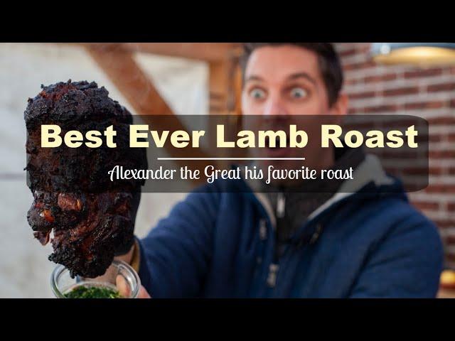 Best Lamb Roast Ever - Sikandari Raan - Indian Leg of Lamb Recipe भेड़ का बच्चा नुस्खा