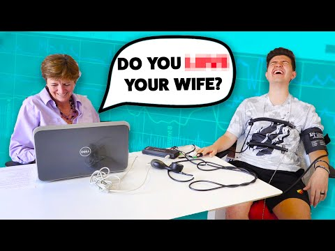 MY WIFE Found Out The TRUTH... (Boy vs Girl Lie Detector Challenge)