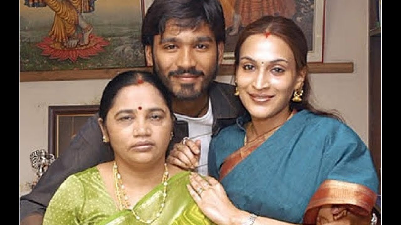 tamil actor dhanush family photos and marriage photos