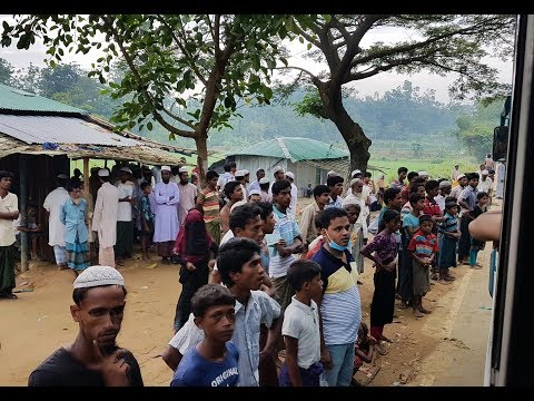 Asian University of Bangladesh(AUB) providing relief funds to the Rohingyas at Teknaf,Cox's Bazar.