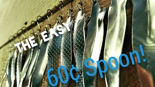 Spoon Lures Salmon and Steelhead Fishing! 60 cents spoons!