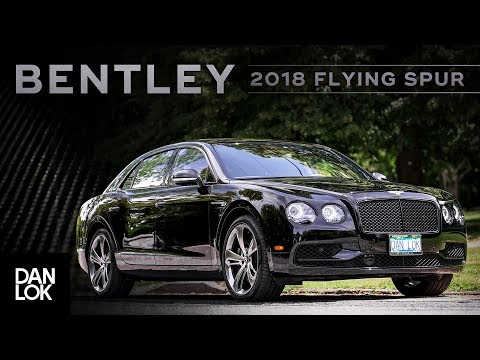 Dan Lok's Bentley Flying Spur V8S Professional Car Review By Zach Spencer Of Motormouth
