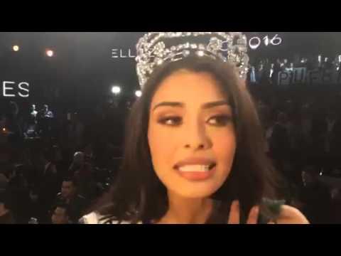 Miss Universe México 2016 Kristal Silva