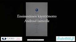 Tabletin ensimmäinen käyttöönotto osa 1: Android-käyttöohjelmapohjainen laite