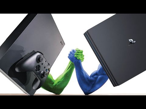 Xbox One X vs PS4 Pro: Release COMPARISON [4K]