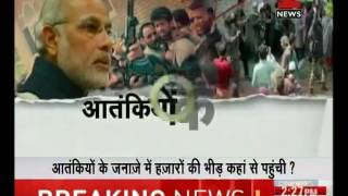 PM Modi ready with his action plan against terrorists in Kashmir
