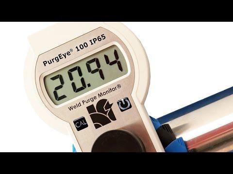 Argweld® PurgEye® 100 Hand Held IP65 Weld Purge Monitor®