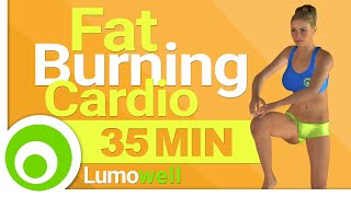 35 Minute Fat Burning Cardio Workout at Home