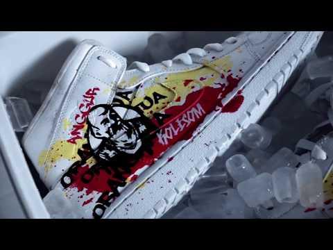 Custom Sneakers - Anggur Kolesom | Inisiasi Kolaborasi  Mr.S X Anggur Orang Tua