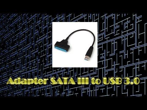Адаптер USB3.0 to SATA III посылки из Китая - Обзор Анонс Стрима