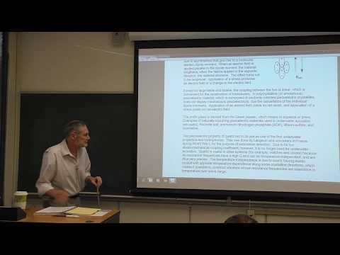 Ph4454: Sonar Transducer Theory and Design Chapter 4 Part A