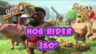HOG RIDER 360º - CLASH OF CLANS, CLASH ROYALE