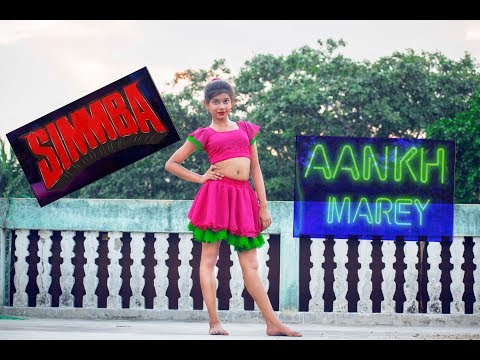 AANKH MAREY | SIMMBA | Ranveer Singh, Sara Ali khan | Dance By Prantika | Bollywood Dance |