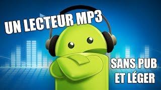 LECTEUR MP3 ANDROID GRATUIT SANS PUB