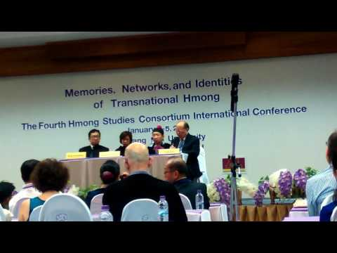 The First Hmong Studies Consortium International Conference in Chiang Mai University, Thailand
