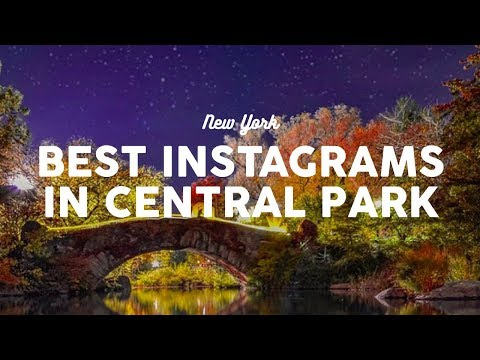 Best Instagram Locations in Central Park | New York City