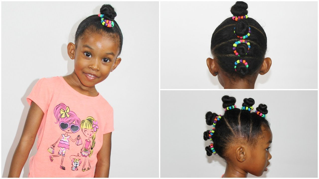 Mohawk Hairstyle With Beads