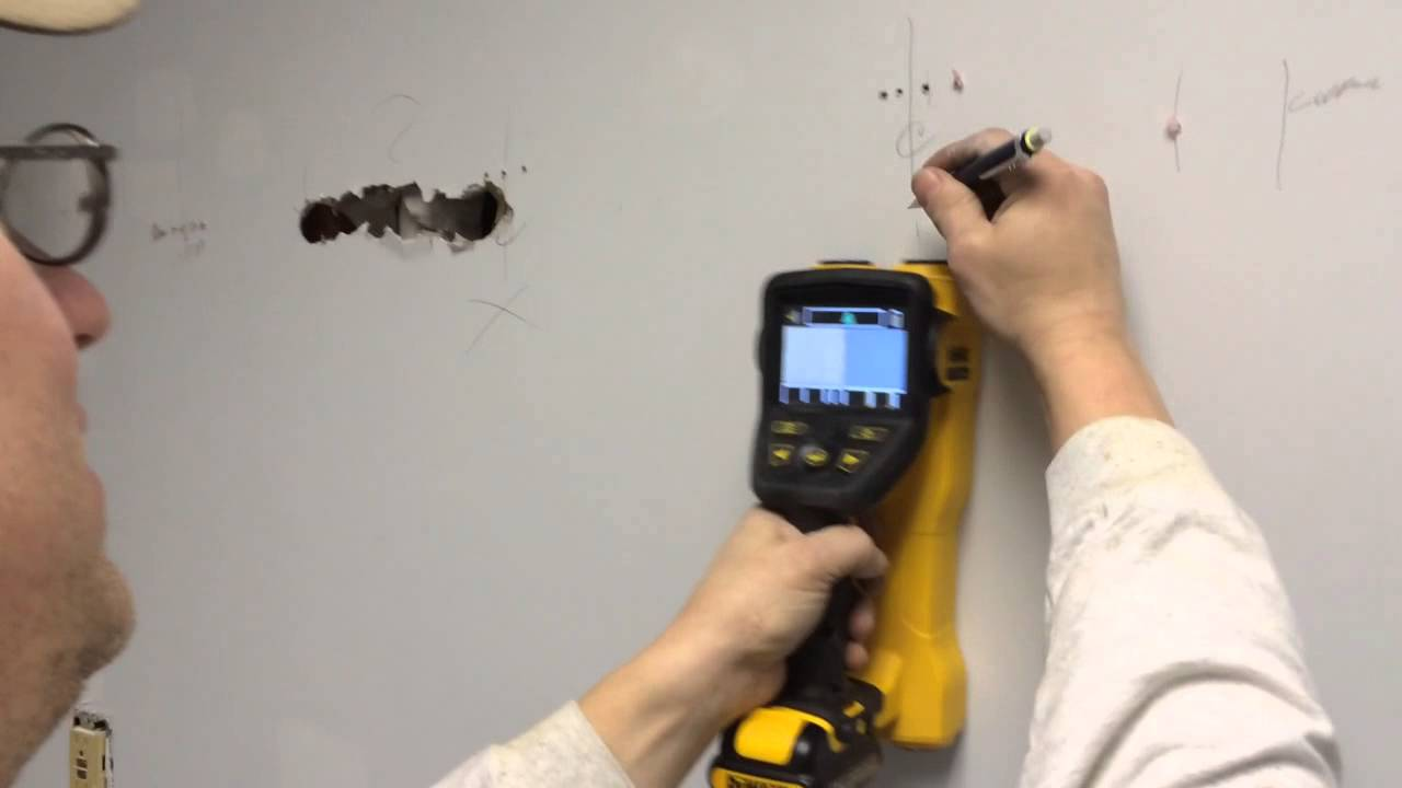 Dewalt X Ray Wall Scanner Old First Version Youtube