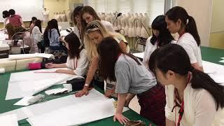 2017 新潟ファッション専門学校ウェディングドレス特別授業