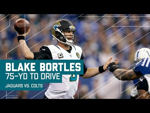 Blake Bortles Leads the Jags on a 75-Yard TD Drive! | NFL Week 17 Highlights