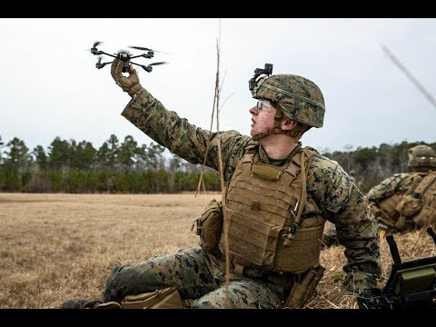 Marine Corps invests in quadcopter drones