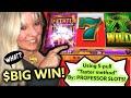 "💥$ BIG WIN! [Using PROFESSOR SLOTS'] 5-Spin ""TASTER METHOD"" Windcreek Casino Wetumpka AL"
