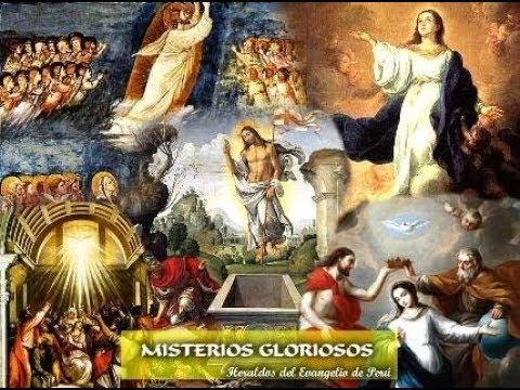 Santo Rosario, Misterios Gloriosos