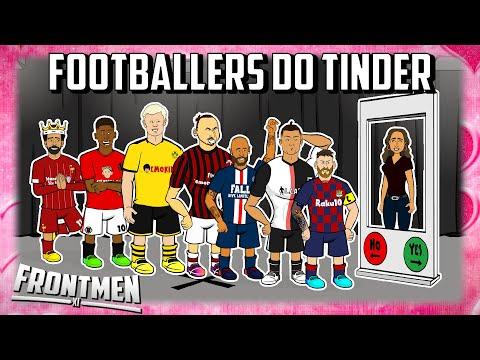 FOOTBALL TINDER IN REAL LIFE - feat Messi Ronaldo Zlatan & The Frontmen! Frontmen Season 1.4