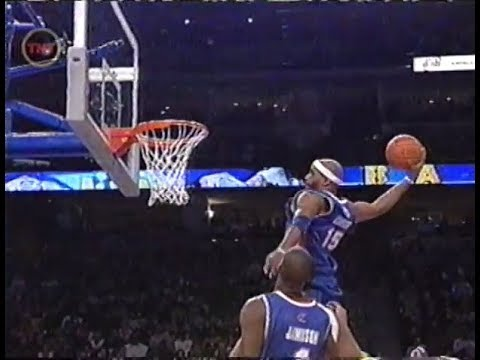 Vince Carter - Off the Backboard Dunk (All-Star Game 2005)