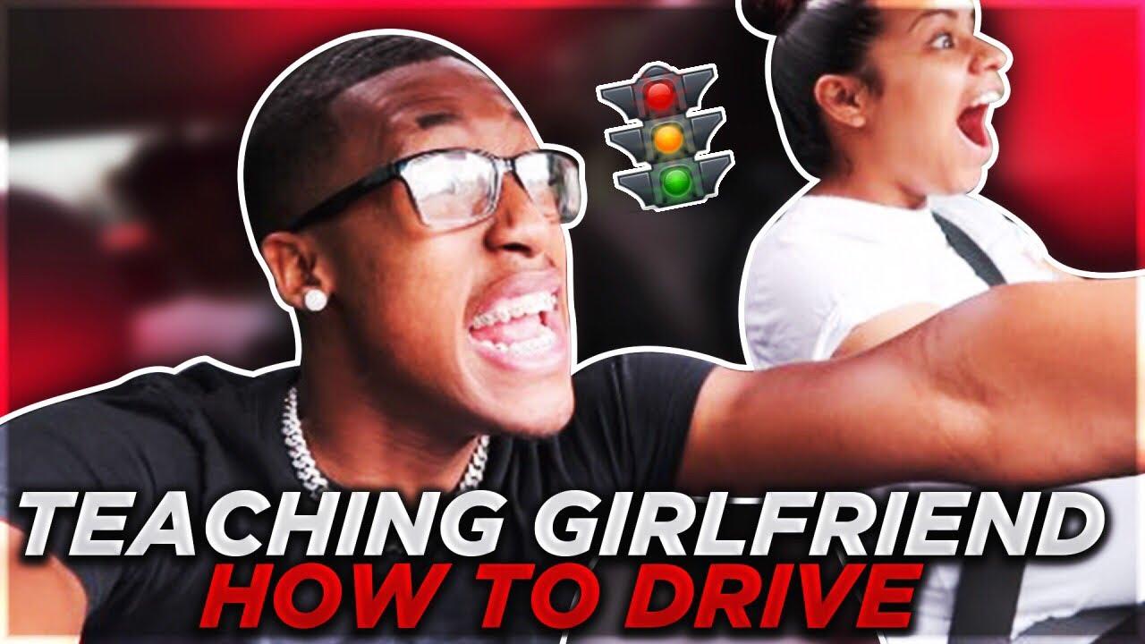 TEACHING CARMEN HOW TO DRIVE....