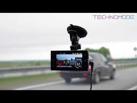 SilverStone F1 HYBRID S-BOT работа радар-детектора и GPS