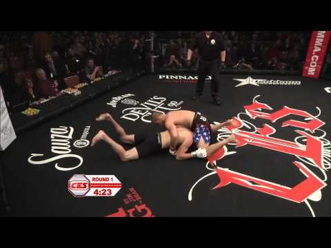 CES MMA XXI: PETER BERTUCCI vs KYLE BOCHNIAK