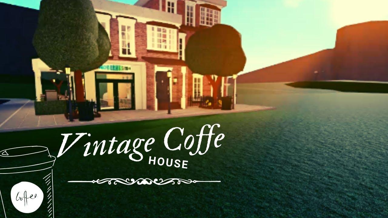 Download Bloxburg: Vintage Coffe house (191k)