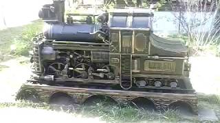 Dampflokomotive - Grill.