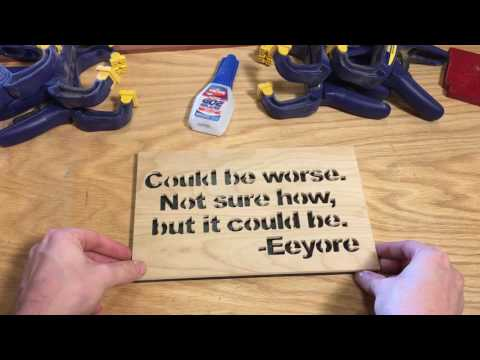 Eeyore quote – scroll saw pattern