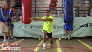Kid Galahad Training Hard And Confident For September 14