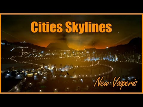 AN ARTIFICIAL OCEAN! - Cities Skylines [New Vooperis] #45