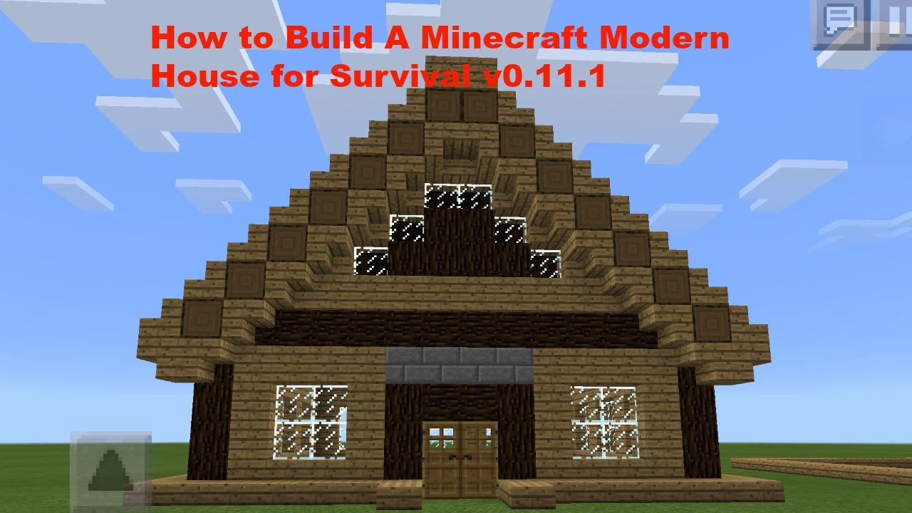 Houses in minecraft pe images for Modern house minecraft pe 0 12 1