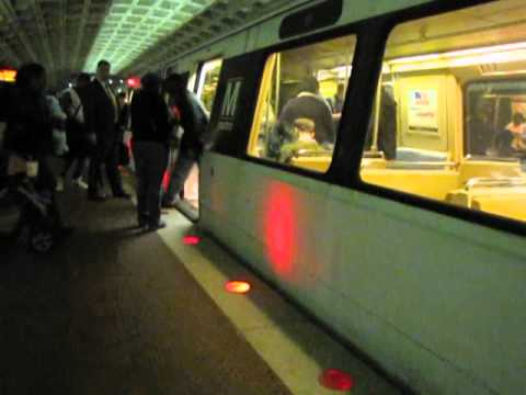 Washington Metro Action @ Metro Center Station