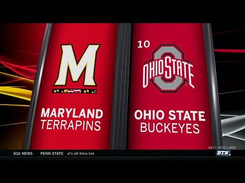 Maryland at Ohio State - Football Highlights