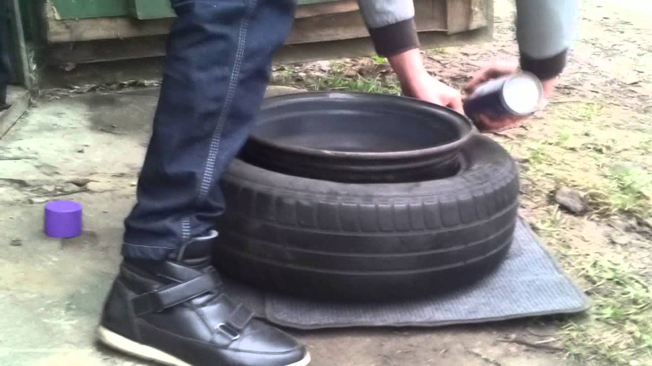 Tire For Less >> Tire stretch R15x8 - YouTube