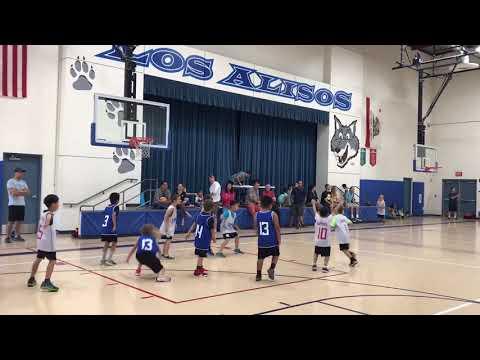 2018/11/3 Basketball Game at Los Alisos Intermediate School