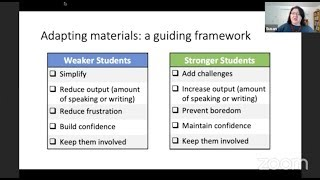 AE Live 3.6 - Adapting Your Materials for Use in Mixed-Ability Classrooms