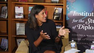 ISD Diverse Diplomacy Leaders series with Nicole Bibbins Sedaca _ short video