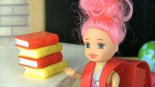 КТО БУДЕТ ПЛАТИТЬ ЗА УЧЕБНИКИ? Мультик #Барби Школа Куклы Игрушки Для девочек